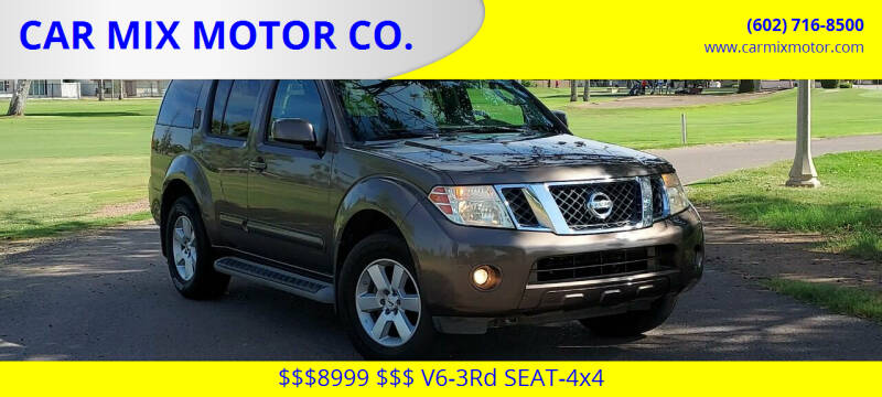 2008 Nissan Pathfinder for sale at CAR MIX MOTOR CO. in Phoenix AZ