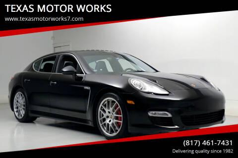 2012 Porsche Panamera for sale at TEXAS MOTOR WORKS in Arlington TX