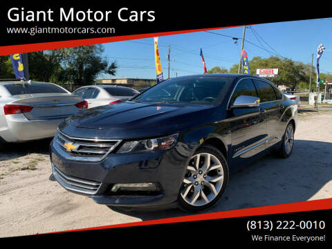 2016 Chevrolet Impala for sale at Giant Motor Cars in Tampa FL