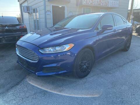 2013 Ford Fusion for sale at Silver Auto Partners in San Antonio TX