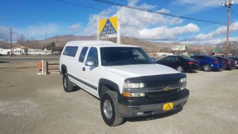 2001 Chevrolet Silverado 2500HD for sale at Auto Depot in Carson City NV