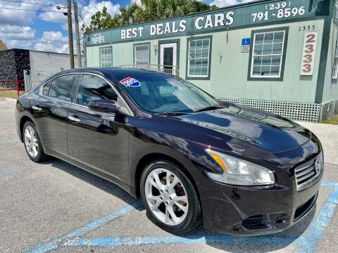 2012 Nissan Maxima for sale at Best Deals Cars Inc in Fort Myers FL