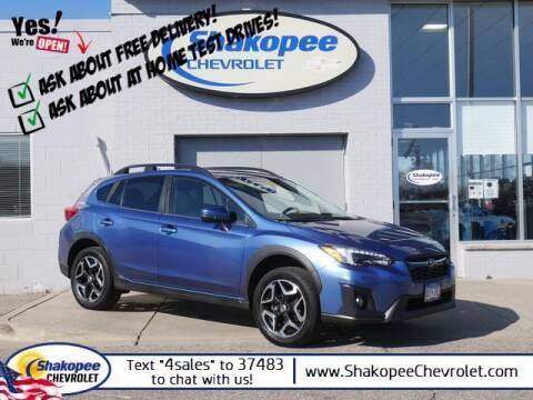 2018 Subaru Crosstrek for sale at SHAKOPEE CHEVROLET in Shakopee MN