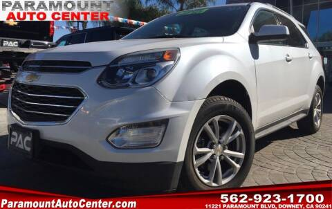 2017 Chevrolet Equinox for sale at PARAMOUNT AUTO CENTER in Downey CA