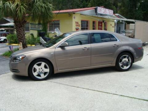 2008 Chevrolet Malibu for sale at VANS CARS AND TRUCKS in Brooksville FL