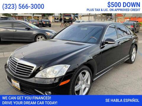 2008 Mercedes-Benz S-Class for sale at Best Car Sales in South Gate CA