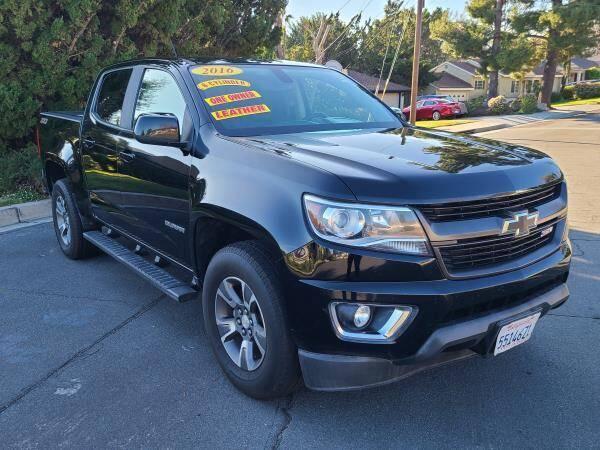 2016 Chevrolet Colorado for sale at CAR CITY SALES in La Crescenta CA