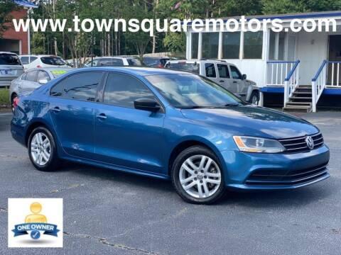 2015 Volkswagen Jetta for sale at Town Square Motors in Lawrenceville GA