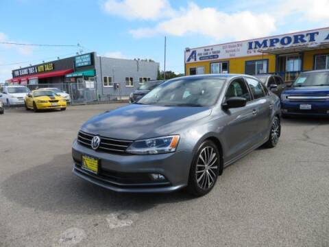 2016 Volkswagen Jetta for sale at Import Auto World in Hayward CA