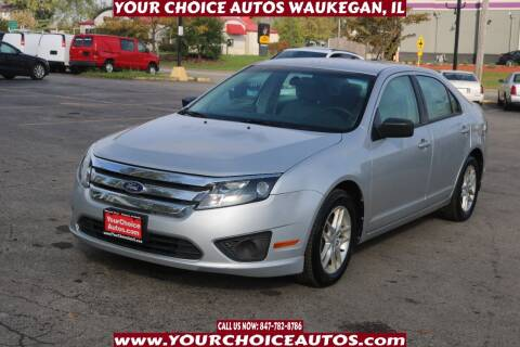 2010 Ford Fusion for sale at Your Choice Autos - Waukegan in Waukegan IL