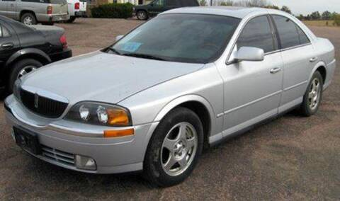 2001 Lincoln LS for sale at Rapp Motors in Marion SD