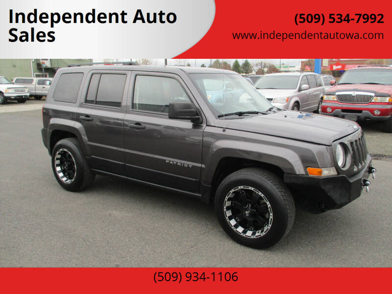 2015 Jeep Patriot for sale at Independent Auto Sales #2 in Spokane WA