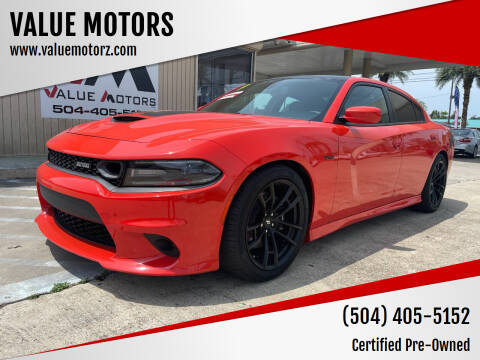 2019 Dodge Charger for sale at VALUE MOTORS in Kenner LA