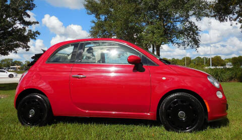 2012 FIAT 500c for sale at Performance Autos of Southwest Florida in Fort Myers FL