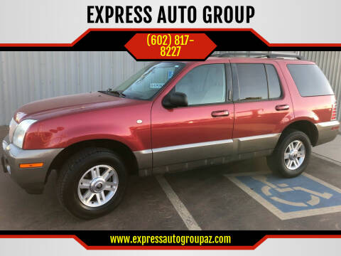 2003 Mercury Mountaineer for sale at EXPRESS AUTO GROUP in Phoenix AZ