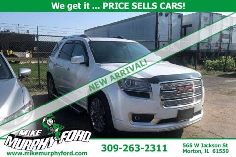 2016 GMC Acadia for sale at Mike Murphy Ford in Morton IL
