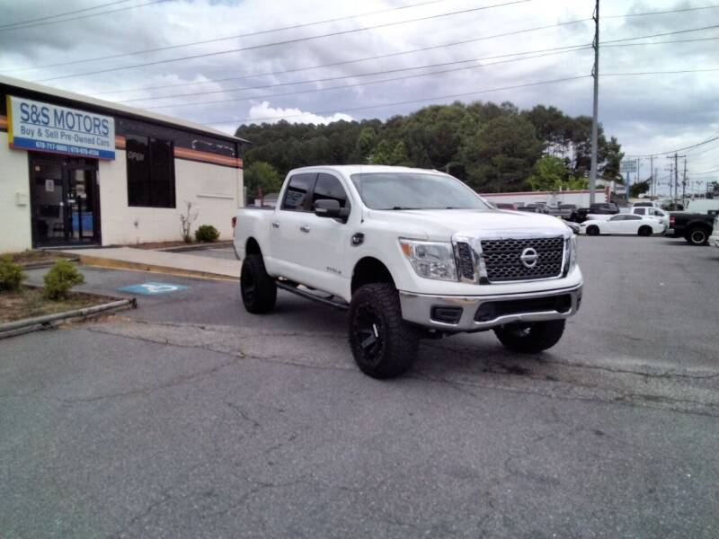 2017 Nissan Titan for sale at S & S Motors in Marietta GA