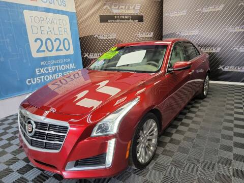 2014 Cadillac CTS for sale at X Drive Auto Sales Inc. in Dearborn Heights MI