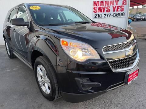 2014 Chevrolet Equinox for sale at Manny G Motors in San Antonio TX