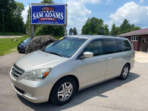 2007 Honda Odyssey for sale at Sam Adams Motors in Cedar Springs MI