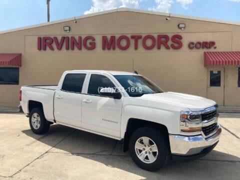 2017 Chevrolet Silverado 1500 for sale at Irving Motors Corp in San Antonio TX