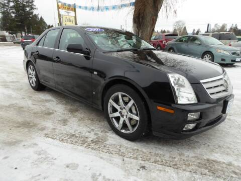 2007 Cadillac STS for sale at VALLEY MOTORS in Kalispell MT