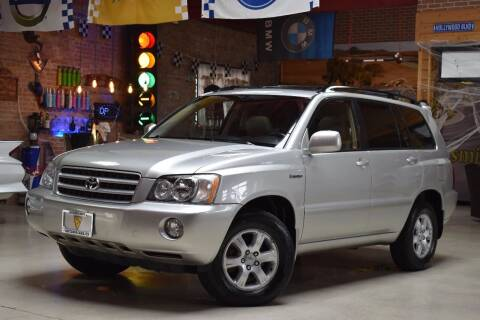 2003 Toyota Highlander for sale at Chicago Cars US in Summit IL