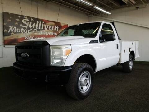 2011 Ford F-350 Super Duty for sale at SULLIVAN MOTOR COMPANY INC. in Mesa AZ