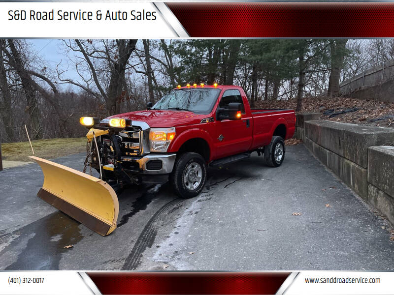 2011 Ford F-350 Super Duty for sale at S&D Road Service & Auto Sales in Cumberland RI