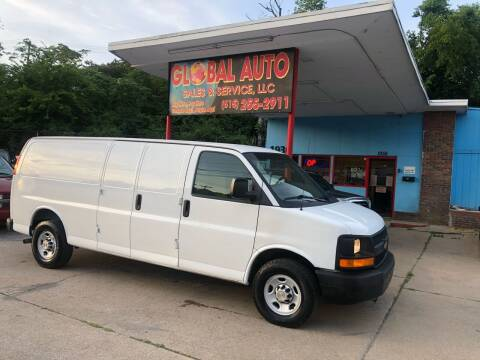 2013 Chevrolet Express Cargo for sale at Global Auto Sales and Service in Nashville TN