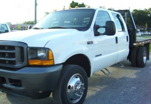 2001 Ford F-550 Super Duty for sale at buzzell Truck & Equipment in Orlando FL