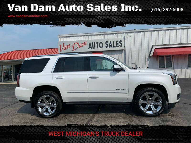 2020 GMC Yukon for sale at Van Dam Auto Sales Inc. in Holland MI
