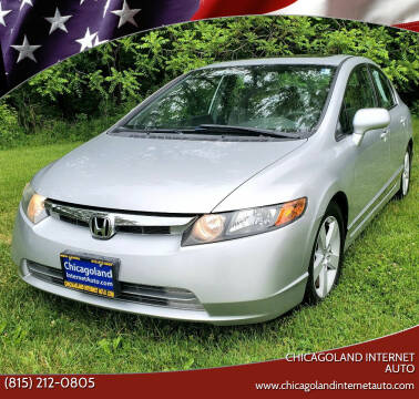 2006 Honda Civic for sale at Chicagoland Internet Auto - 410 N Vine St New Lenox IL, 60451 in New Lenox IL