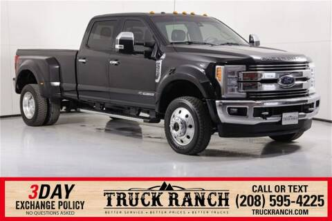 2017 Ford F-450 Super Duty for sale at Truck Ranch in Twin Falls ID