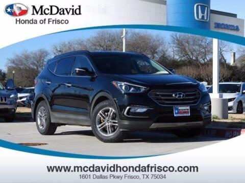 2017 Hyundai Santa Fe Sport for sale at DAVID McDAVID HONDA OF IRVING in Irving TX