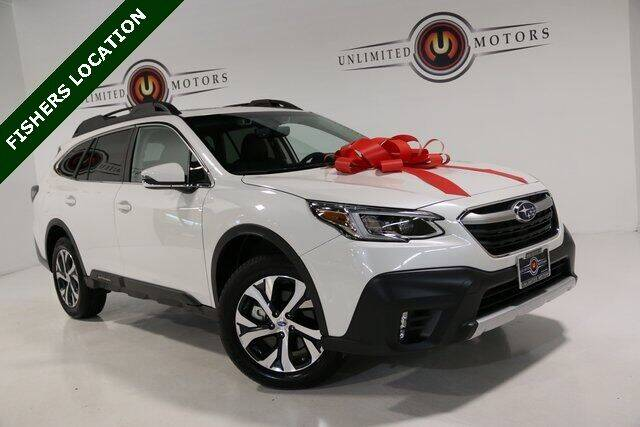 2020 Subaru Outback for sale at Unlimited Motors in Fishers IN