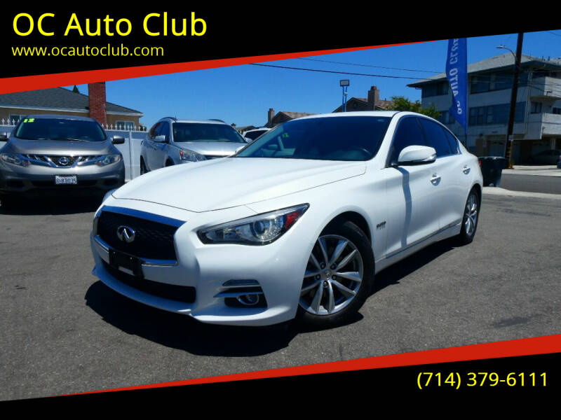 2014 Infiniti Q50 Hybrid for sale at OC Auto Club in Midway City CA