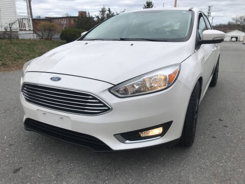 2016 Ford Focus for sale at D'Ambroise Auto Sales in Lowell MA