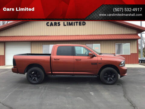 2017 RAM Ram Pickup 1500 for sale at Cars Limited in Marshall MN