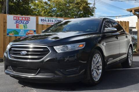 2014 Ford Taurus for sale at ALWAYSSOLD123 INC in Fort Lauderdale FL