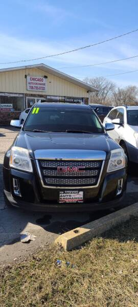 2011 GMC Terrain for sale at Chicago Auto Exchange in South Chicago Heights IL