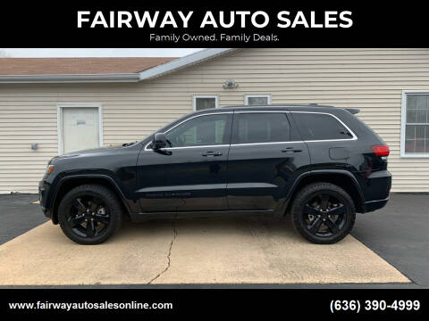 2015 Jeep Grand Cherokee for sale at FAIRWAY AUTO SALES in Washington MO