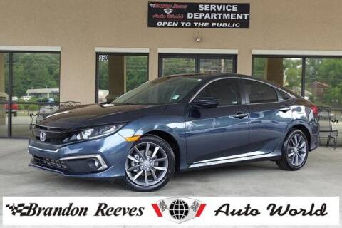 2020 Honda Civic for sale at Brandon Reeves Auto World in Monroe NC