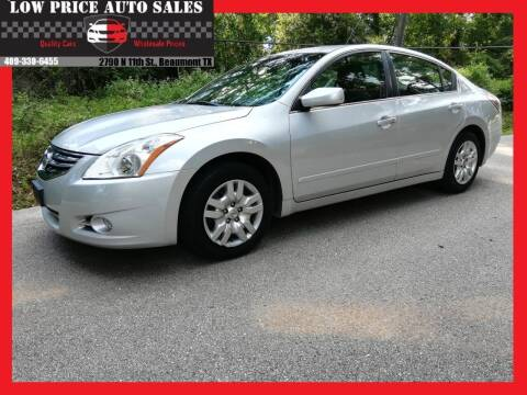 2012 Nissan Altima for sale at Low Price Autos in Beaumont TX