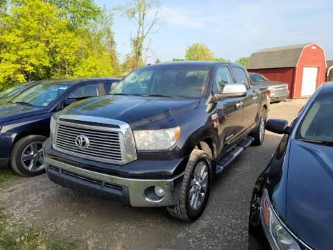 2011 Toyota Tundra for sale at Clare Auto Sales, Inc. in Clare MI