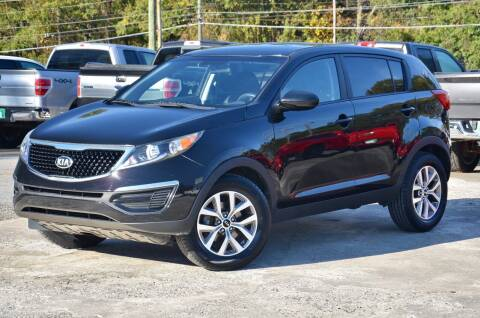 2016 Kia Sportage for sale at Marietta Auto Mall Center in Marietta GA