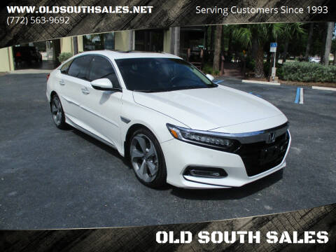 2018 Honda Accord for sale at OLD SOUTH SALES in Vero Beach FL