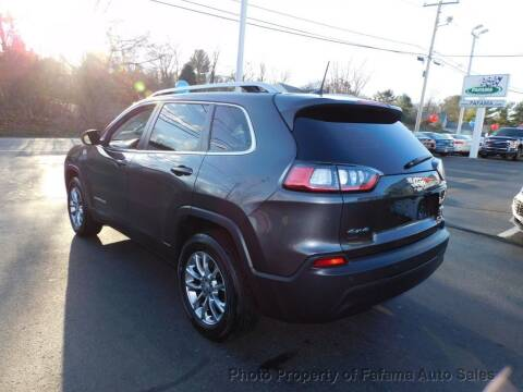 2020 Jeep Cherokee for sale at FAFAMA AUTO SALES Inc in Milford MA