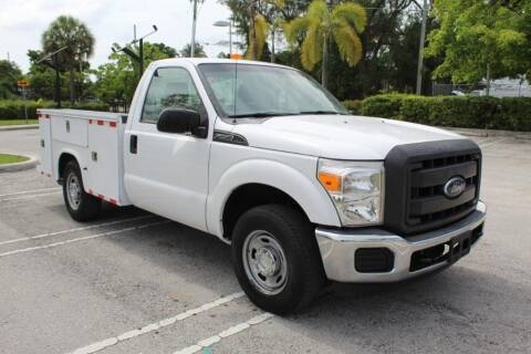 2013 Ford F-250 Super Duty for sale at Truck and Van Outlet in Miami FL