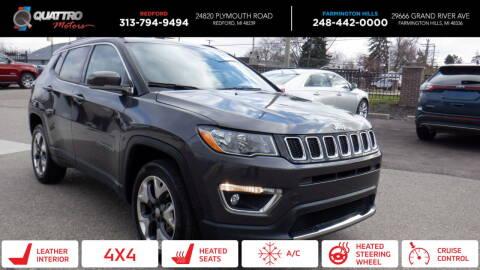 2019 Jeep Compass for sale at Quattro Motors 2 - 1 in Redford MI